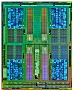 Die shot of the eight-core Opteron 4300
