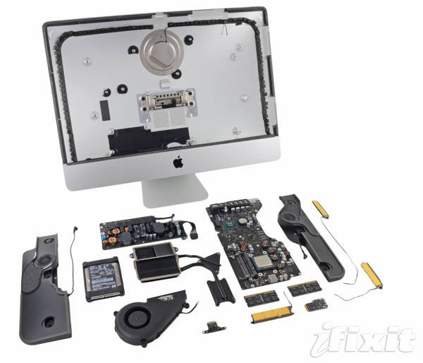 21.5-inch iMac  full teardown
