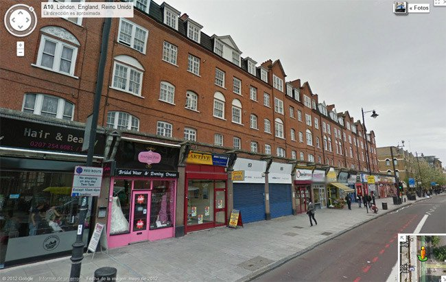 The flats at Coronation Avenue, as seen on Street View