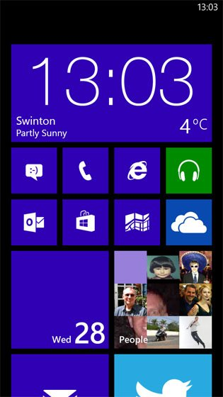HTC 8X Windows Phone 8