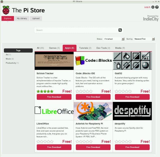 Raspberry Pi Shop