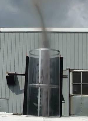 Prototype demonstrating AVEtec vortex creation