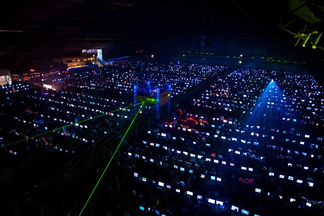 Dreamhack 2009. Image by Trevor Pott