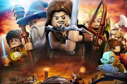 Lego Lord of the Rings PC game