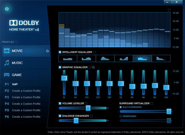 Lenovo IdeaPad Yoga 13 Ultrabook Dolby Theatre
