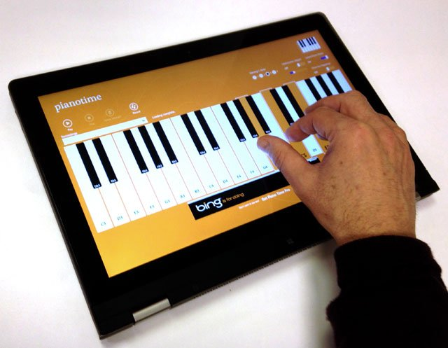 Lenovo IdeaPad Yoga 13 Ultrabook Pianotime