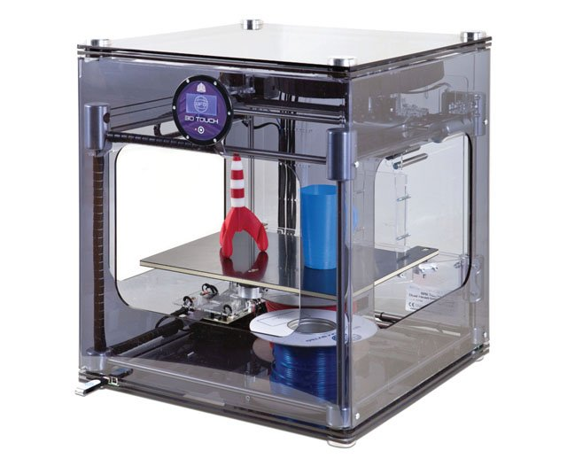 Photo of a 3D printer