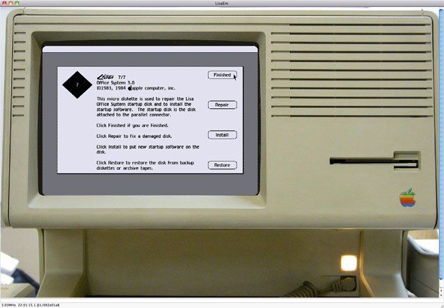 LisaEm Apple Lisa emulator