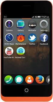 The Keon Firefox OS phone