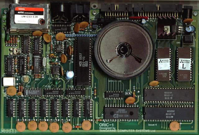 The Oric-1 48K motherboard