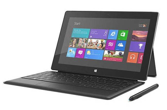 Photo of Microsoft Surface Windows 8 Pro, with Touch Cover