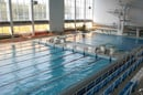 An Olympic-sized swimming pool