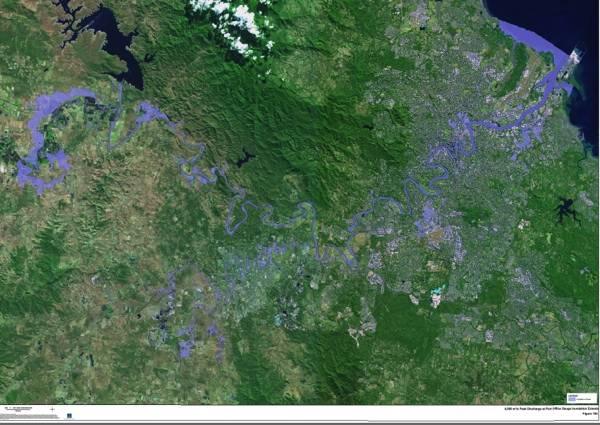 Brisbane flood maps online version