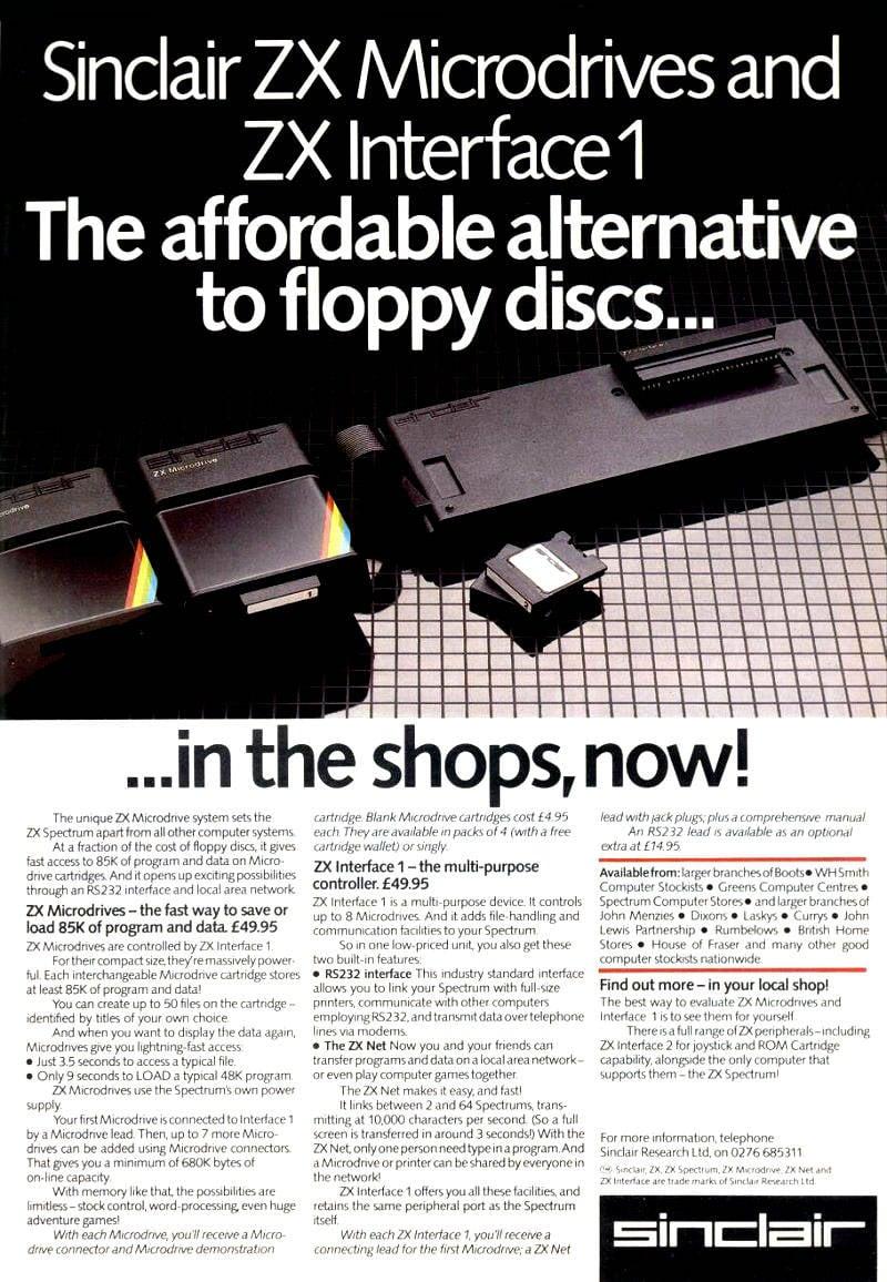Sinclair ZX M