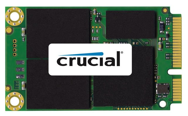 Crucial m4 mSata SSD