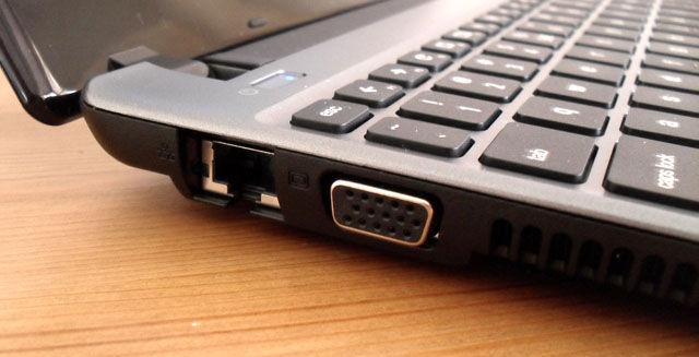 Chromebooks: Acer's ports 1