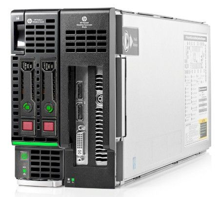 The ProLiant WS460c workstation blade, with GPU sidecar