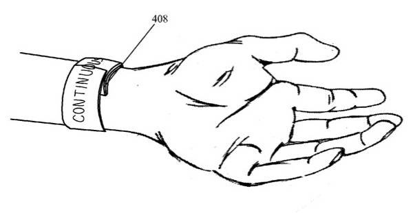 Apple 'Bi-stable Spring with Flexible Display' patent illustration
