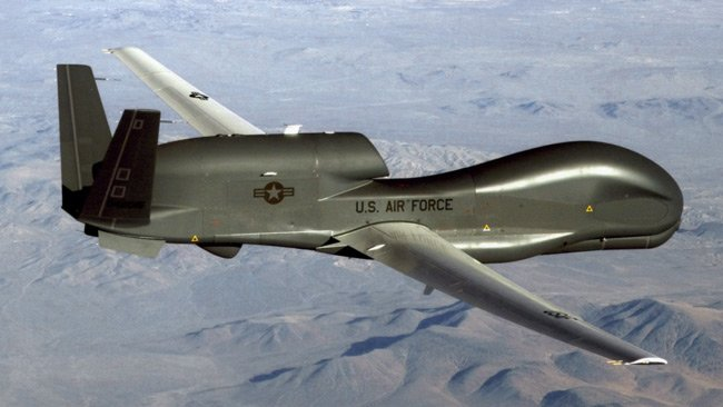The RQ-4 Global Hawk. Pic: US Air Force