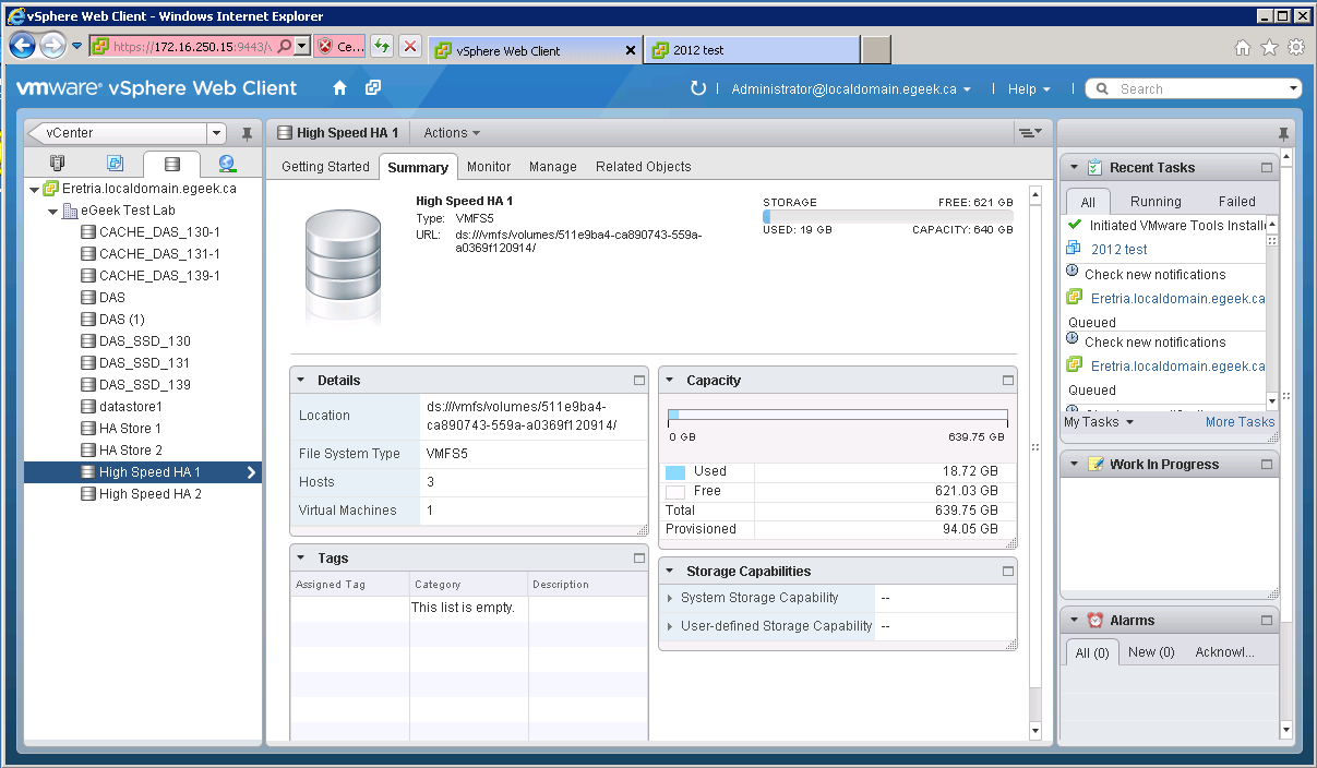 VMware Storage View
