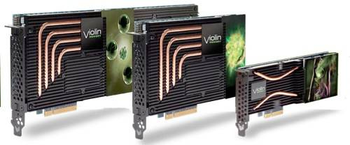 Violin Memory PCIe cards