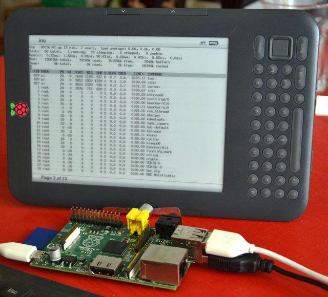 Kindle-screen Pi