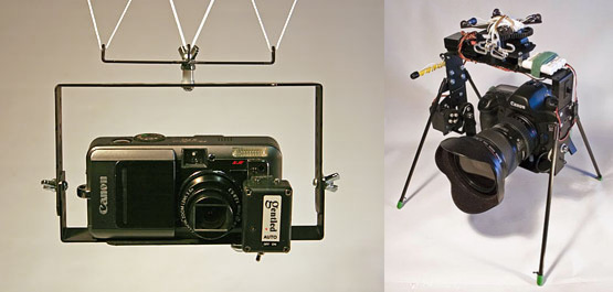 A basic KAP rig, with its servo-controlled big brother