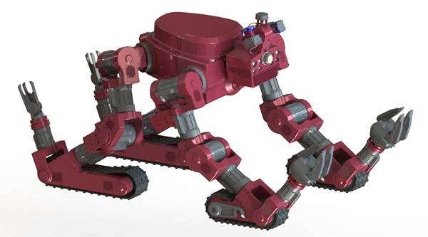 CHIMP robot