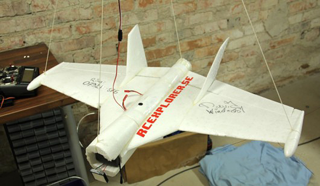 David Windestal's Space Glider. Pic: David Windestal
