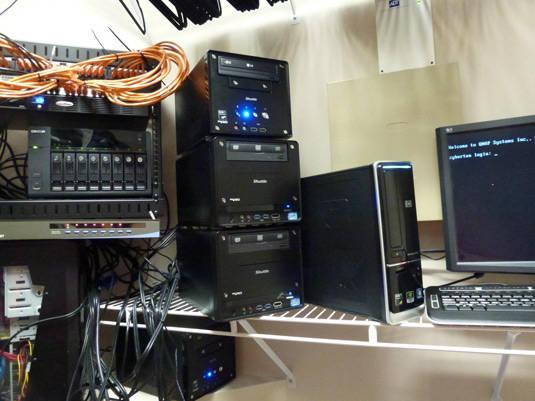 Stephen Rea's home lab