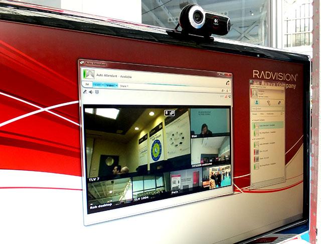Radvision with Microsoft Lync