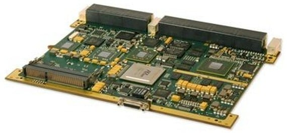 GE's IPN251 hybrid computing card marries a Core i7, a Xilinx FPGA, and an Nvidia Kepler GPU with a PCI switch