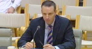Adobe Australia Managing Director Paul Robson appears before Australia's IT pricing inquiry