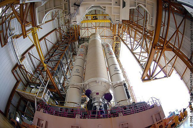 The heavy-lift Ariane 5 ECA. Pic: ESA