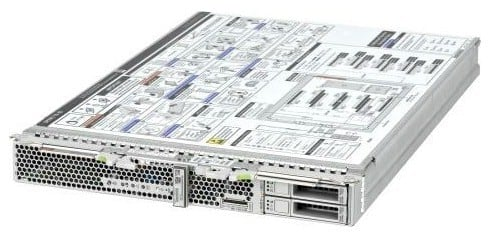 The Sparc T5-1B blade server for the 6000 series chassis