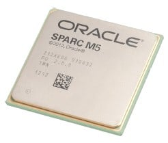 The Sparc M5 is a cache-heavy, core-light variant of the Sparc T5