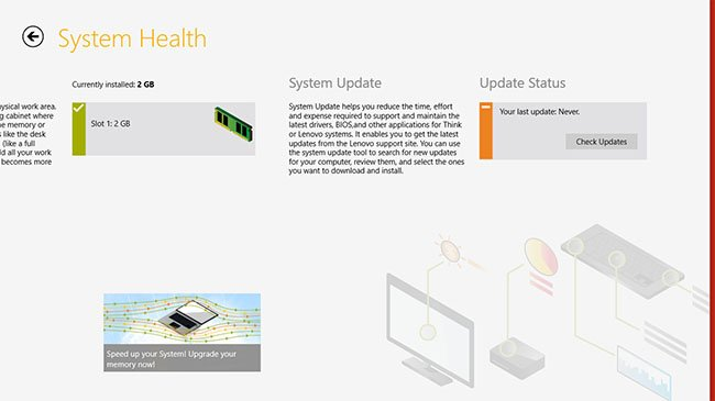 Lenovo System Health