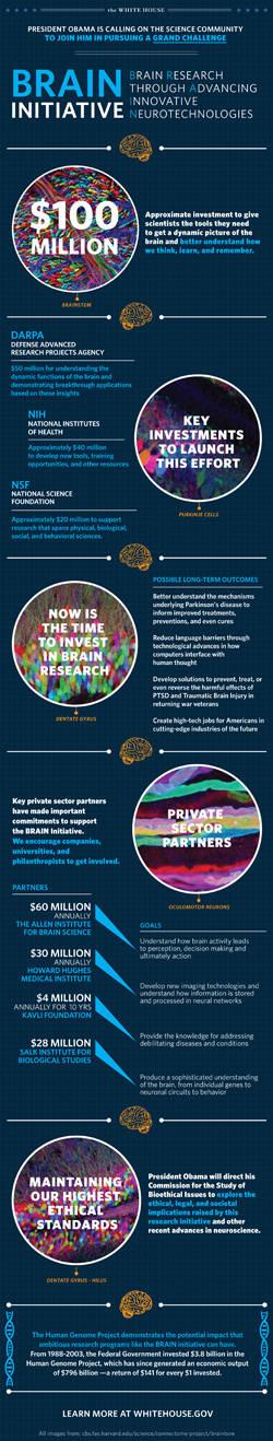 BRAIN Initiative infographic