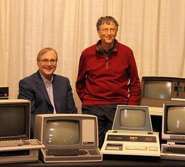 Bill Gates and Paul Allen 2013