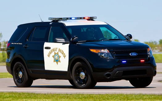California Highway Patrol Ford Police Interceptor Utility cruiser