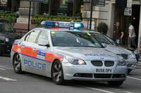 London BMW 5-Series police car