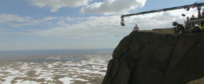 Oblivion, the movie Earl's Peak shooting