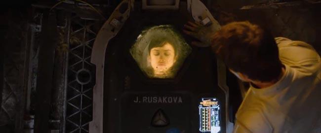 Oblivion, the movie Julia capsule