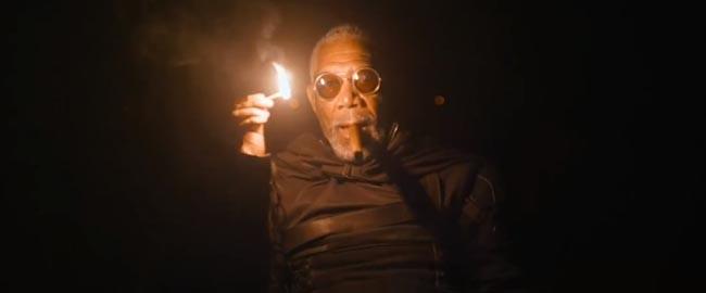 Oblivion, the movie Morgan Freeman as Beech