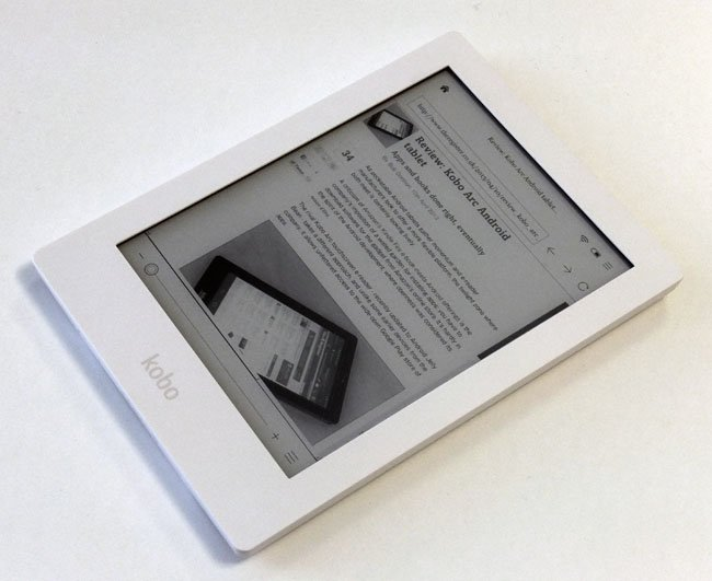 Kobo Aura HD E Ink reader