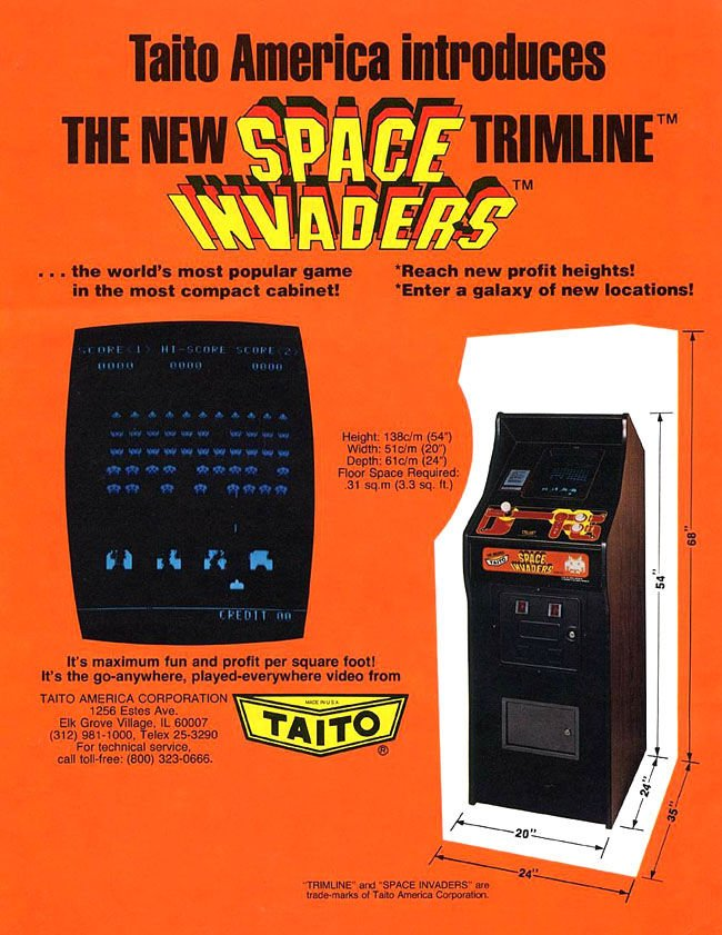 Space Invaders promo