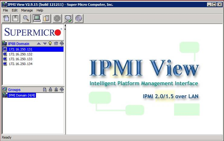 Supermicro IPMI View