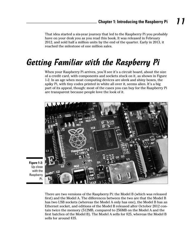 Raspberry Pi for Dummies