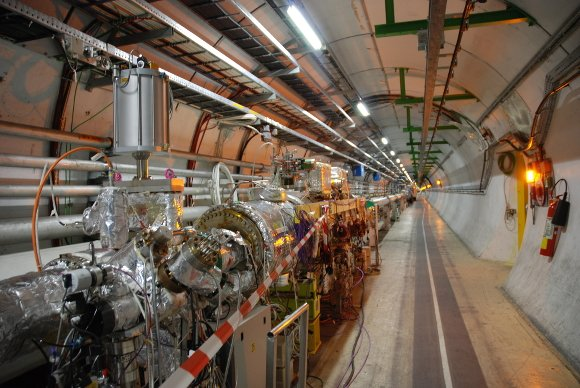 The particle tube deconstructed at LHC