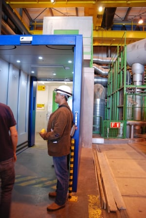 LHCb airlock